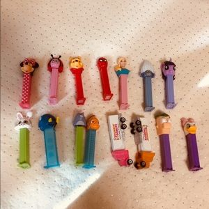 Pez Collectibles Lot 15 Items GUC!